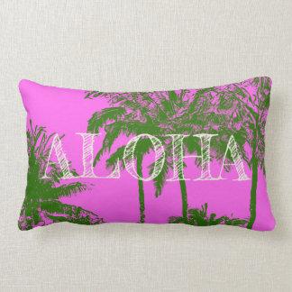 Omkeerbare Palmen van het Strand van Makena de Lumbar Kussen