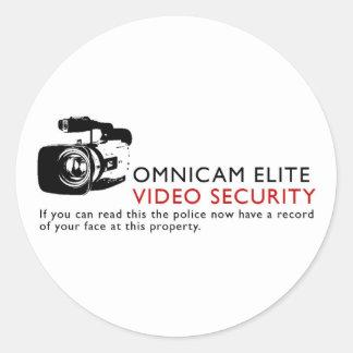 Omni-nok Elite Ronde Sticker
