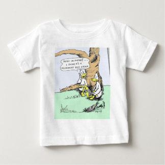 Onbeperkte eenden baby t shirts