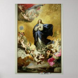 Onbevlekte Ontvangenis, 1635 Poster
