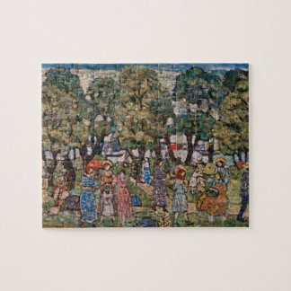 Onder de Bomen door Maurice Prendergast Legpuzzel