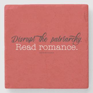 Onderbreek het patriarchaat Gelezen Romance. Het Stenen Onderzetter