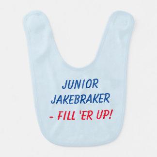 Ondergeschikte Jakebraker babyslab Slabbetje