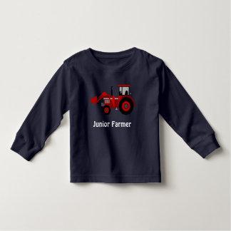"""""""Ondergeschikte Landbouwer"""" en de Rode Tractor van Kinder Shirts"""