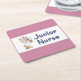 Ondergeschikte Verpleegster Vierkante Onderzetter