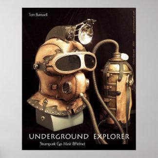 Ondergrondse Ontdekkingsreiziger Poster