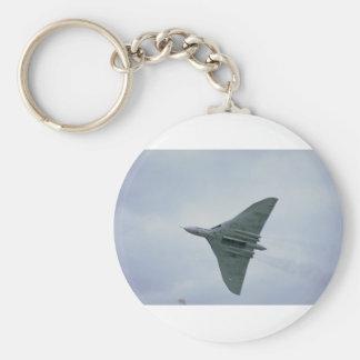 Onderkant van bommenwerper Vulcan, met open Sleutelhanger