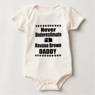 Onderschat nooit de Bruine Papa van Havana Baby Shirt