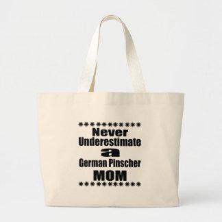 Onderschat nooit Duits Mamma Pinscher Grote Draagtas