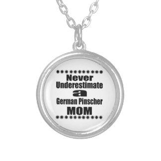 Onderschat nooit Duits Mamma Pinscher Zilver Vergulden Ketting