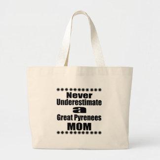 Onderschat nooit het Grote Mamma van de Pyreneeën Grote Draagtas
