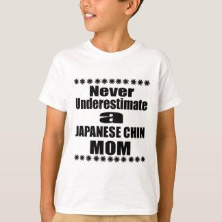 Onderschat nooit het JAPANSE Mamma van de KIN T Shirt