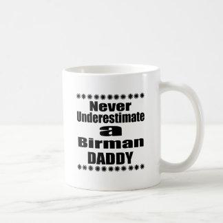 Onderschat nooit Papa Birman Koffiemok