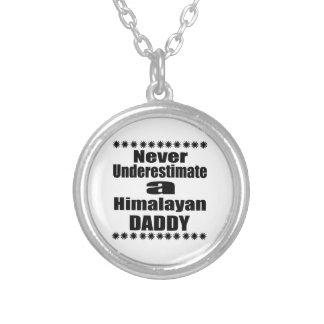 Onderschat nooit Papa Himalayan Zilver Vergulden Ketting