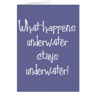 Onderwater Briefkaarten 0