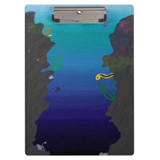 Onderwater klembord