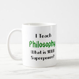 Onderwijs filosofie koffiemok