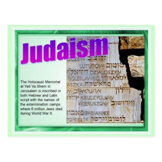 Onderwijs, Godsdienst, Judaïsme, het Gedenkteken Briefkaart