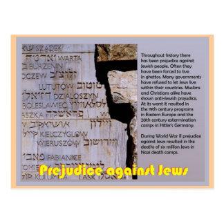 Onderwijs, Judaïsme, Nadeel tegen Joden Briefkaart