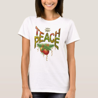 Onderwijs Vrede T Shirt