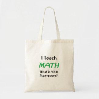Onderwijs wiskunde draagtas