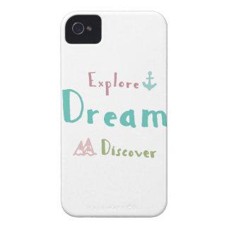 Onderzoek Droom ontdekken iPhone 4 Hoesje
