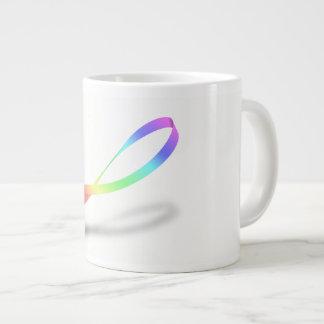 Oneindige Regenboog Grote Koffiekop