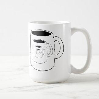Oneindige regressie koffiemok