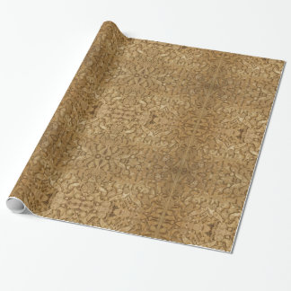 Oneindigheid in het Glanzende Verpakkende Document Inpakpapier