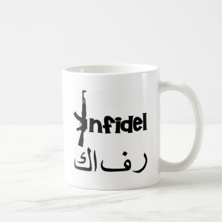 Ongelovige w ak-47 koffiemok