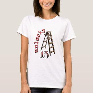 Ongelukkige 13 t shirt