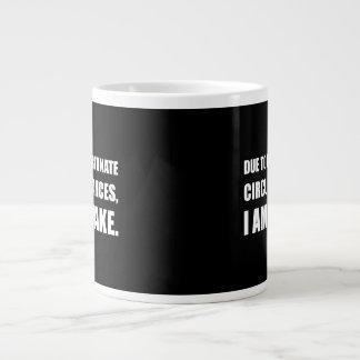 Ongelukkige Omstandigheden ben ik Wakker Grappig Grote Koffiekop