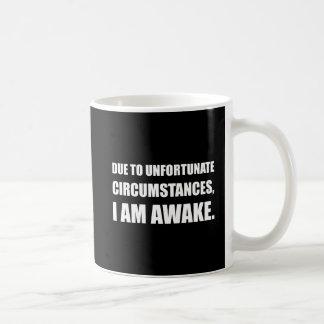 Ongelukkige Omstandigheden ben ik Wakker Grappig Koffiemok