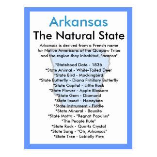 Ongeveer Arkansas Briefkaart