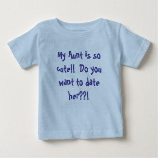 Ongeveer mijn Overhemd van het Baby van de Tante Baby T Shirts