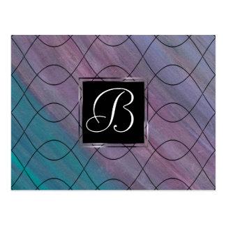 Onrealistisch Kantoor | Roze Paars Blauw | van het Briefkaart
