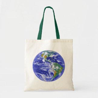 Ons Huis - het Canvas tas van de Aarde