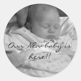 Ons Nieuw baby is hier Sticker