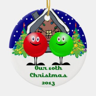 Ons Ornament 2013 van 10de Kerstmis