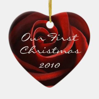 Ons ornament van Eerste Kerstmis