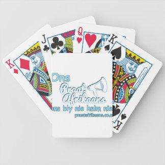 ONS-Praat-Afrikaans-ONS-Bly-Nie Poker Kaarten