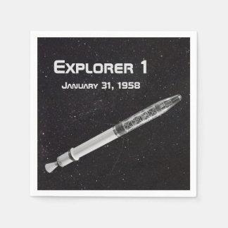 Ontdekkingsreiziger 1 Satelliet Papieren Servet