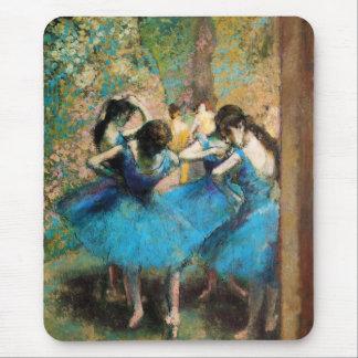 Ontgas Blauwe Dansers Muismat