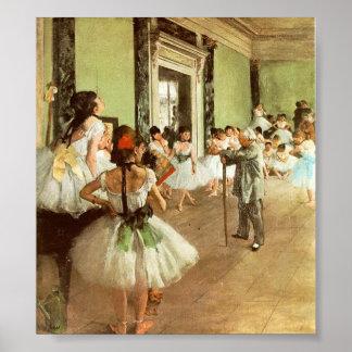 Ontgas Dansende Klasse Poster