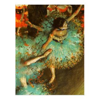 Ontgas de Groene Impressionist van het Ballet van Briefkaart