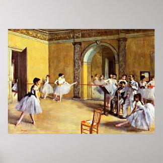 Ontgas - de Klasse van de Dans Poster