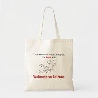 Onthaal aan Arizona! Draagtas