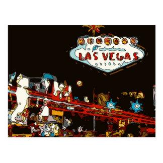 Onthaal aan het Baby van Las Vegas! Briefkaart