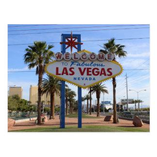 Onthaal aan het Briefkaart van Las Vegas!