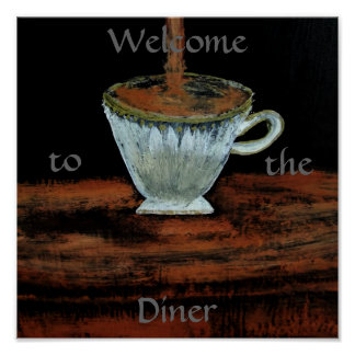 Onthaal aan het Diner Poster van Teatime